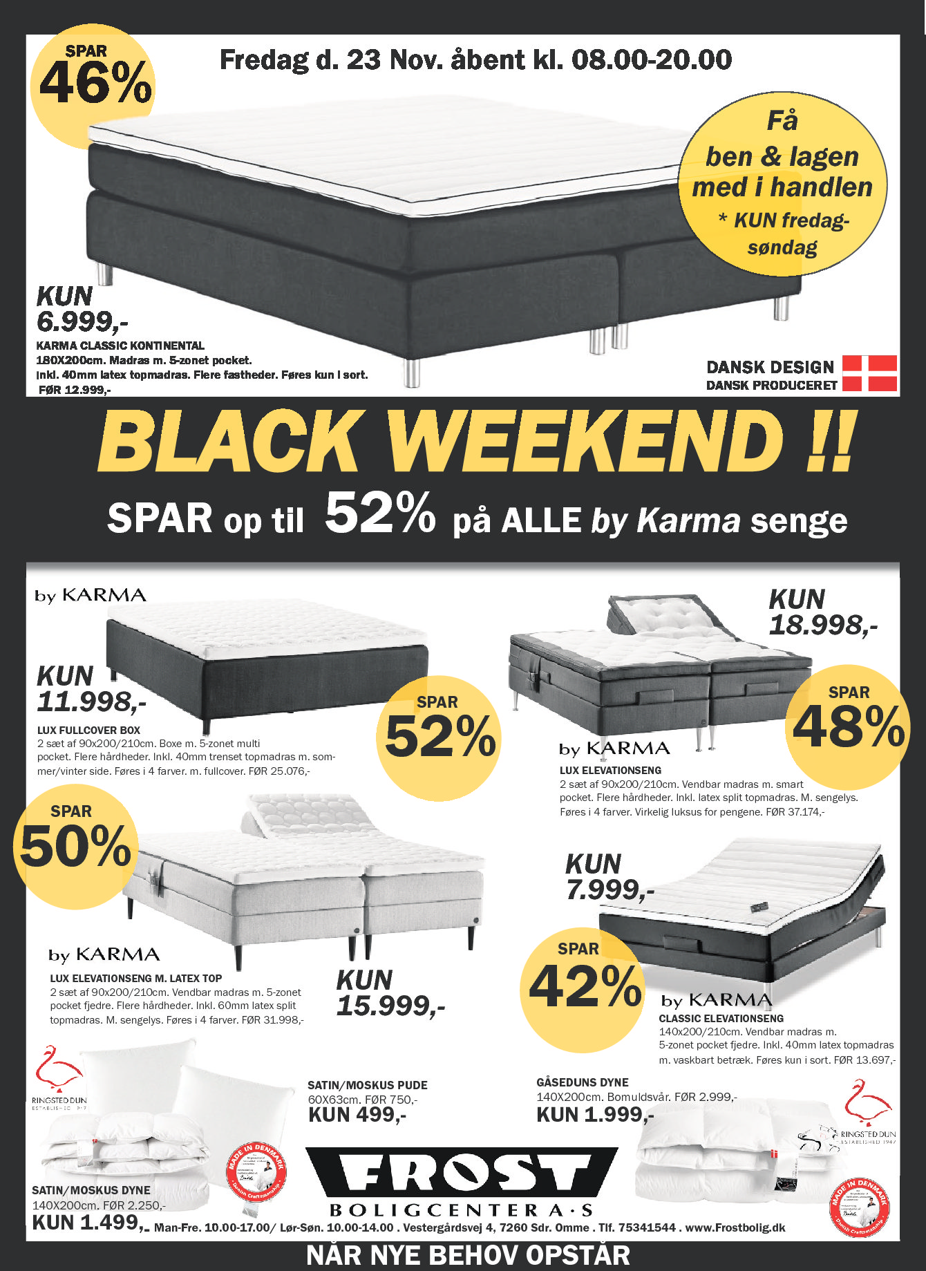 BLACK FRIDAY D. 23 NOVEMBER!